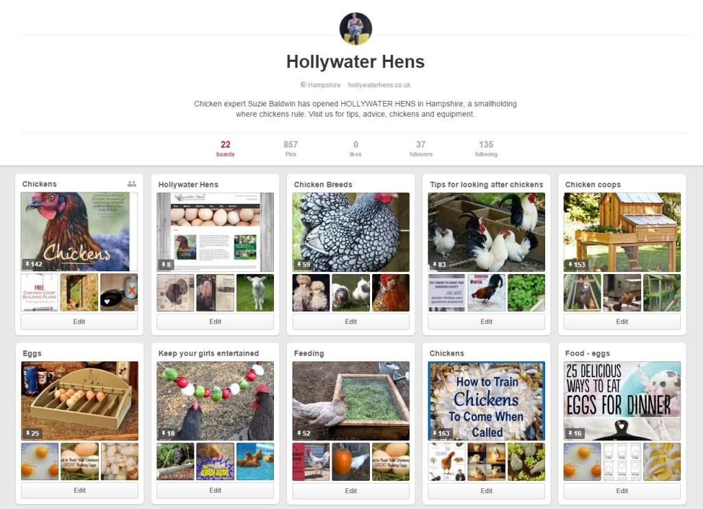 HollywaterHens.co.uk on Pinterest