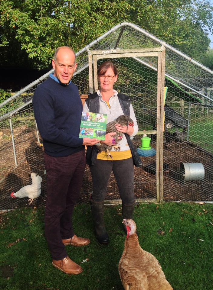 Phil Spencer visits Hollywater Hens