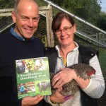 Phil Spencer with Suzie Baldwin's new book
