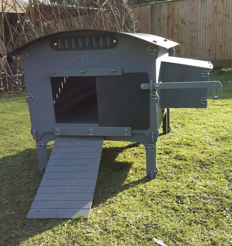 recycled plastic chicken coop