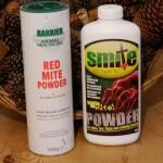 red mite powder